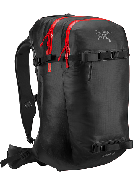 Voltair 30 Backpack Advanced, powerful 30L backcountry avalanche pack capable of multiple deployments. Battery and charger are sold separately.