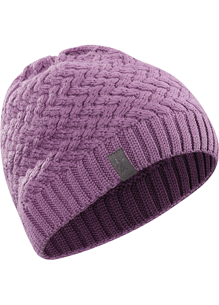 Waffle Toque Lattice style waffle knit provides visual interest to this medium weight unlined toque in a form fitting silhouette.