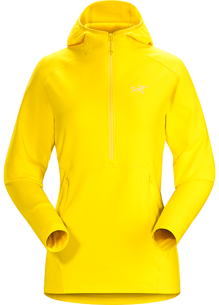 Zoa Hoody Women's Women's lightweight, versatile fleece pullover with a snug fitting hood. Designed for rock, ice and alpine climbing.