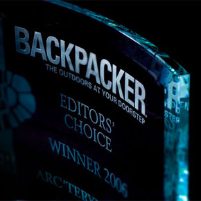 Backpacker Magazine Editor's Chocie Award