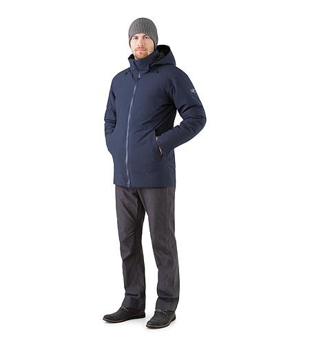 カモーソン パーカ メンズ 保温性、防風、耐候性のダウン インシュレーティッド GORE-TEX® パーカは洗練された都会派スタイル。