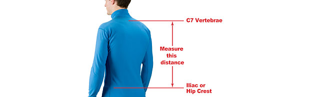 correct Back Length Measurement