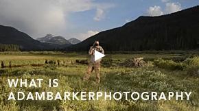 What Is Adam Barker Photography
