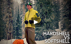 Hardshell VS Softshell