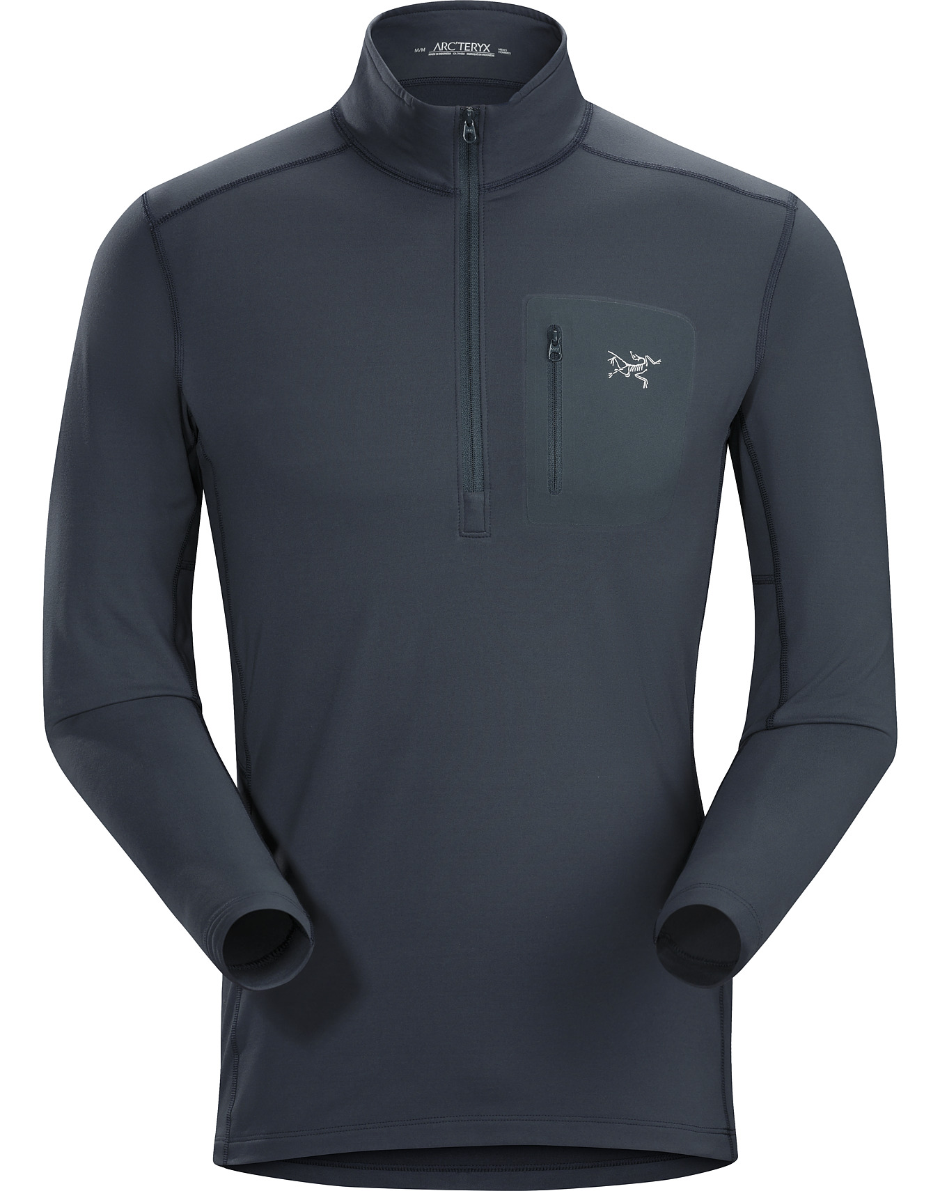 Rho LT Zip Neck