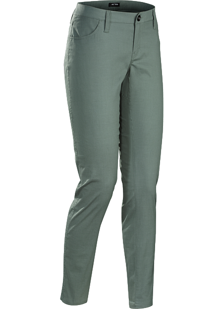 A2B Commuter Pant Women's Trim-fitting pants easily transition from the urban bike commute to daily living.