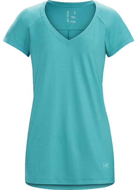 A2B V-Neck Shirt SS Women's Castaway