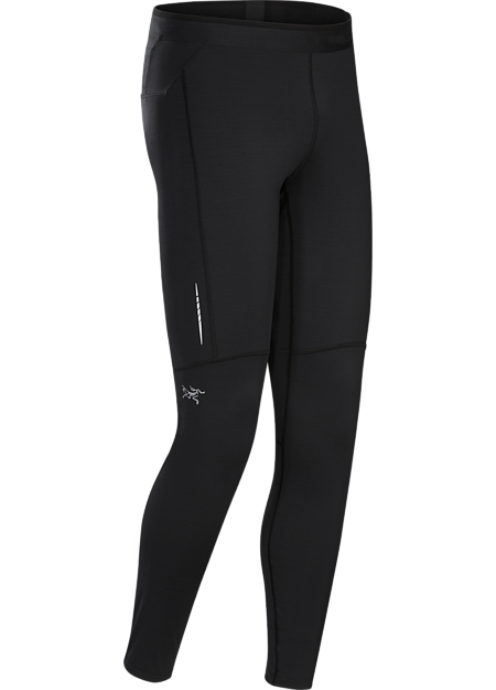 Accelero Tight Men's Ankle-length trail running tight for extended runs in cool weather.