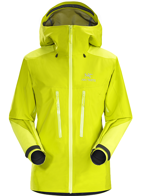 Alpha AR Jacket Women's Chartreuse