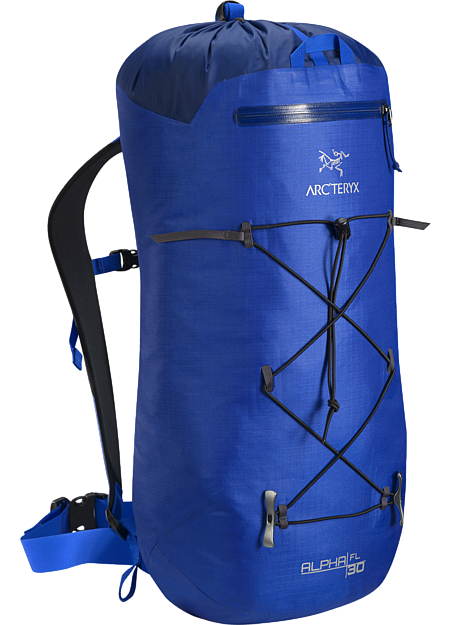 Ultra light, durable, highly weather resistant climbing pack designed for fast and light alpine, ice and rock routes. Alpha Series: Climbing and alpine focused systems | FL: Fast and Light.