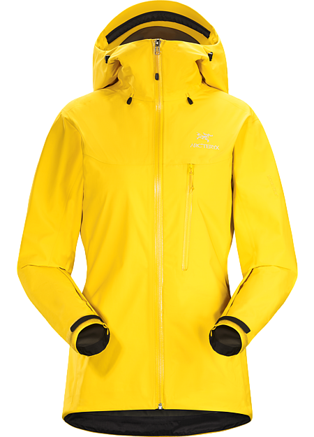 Super lightweight and compact, waterproof jacket constructed using GORE-TEX® fabric with PacLite® product technology and designed with essential climbing features such as a helmet compatible StormHood™ and Hemlock™ harness blocker; ideal as a packable emergency storm jacket for alpine or multipitch climbing. Alpha Series: Climbing and alpine focused systems | SL: Super light.