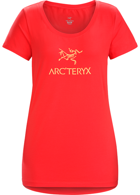 T-shirt with the Arc'teryx logo made with organically grown cotton.