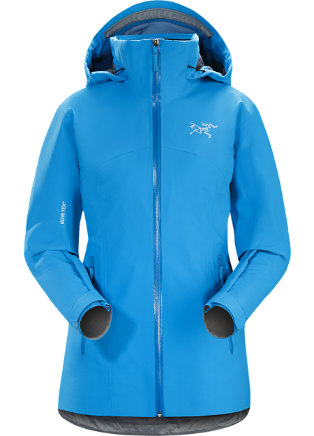 On-area ski shell made from 3L GORE-TEX® with GORE® C-KNIT™ backer technology.