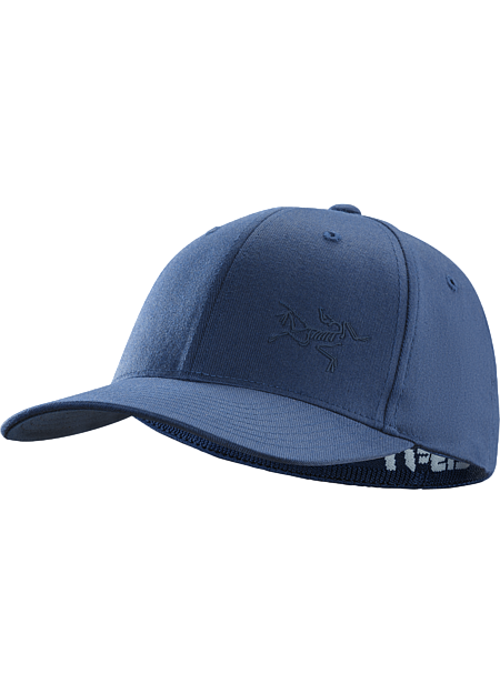 A low profile cap with a rubberized Bird logo on the front and FlexFit® construction
