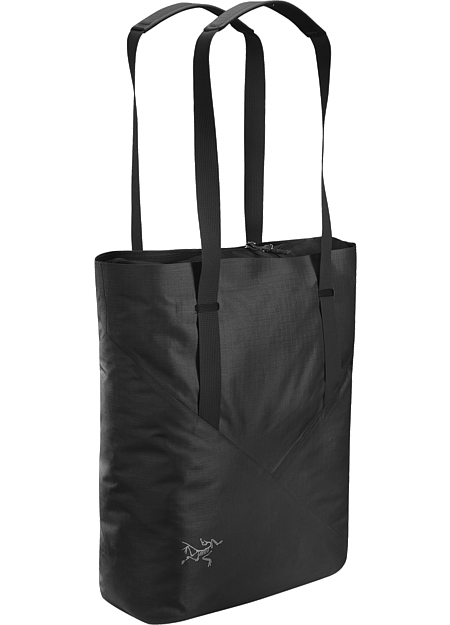 Versatile, highly weather resistant tote bag ideal for carrying life's necessities.