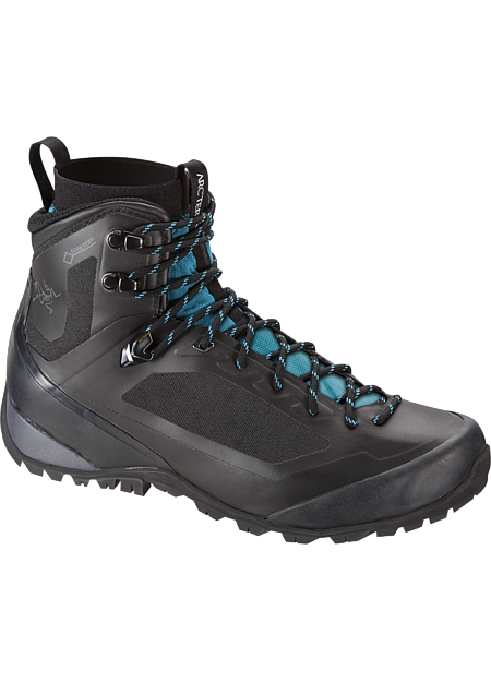 Durable, light, supportive multiday hiking footwear with GORE-TEX® waterproof/breathable protection, Arc'teryx Adaptive Fit comfort, and a seamless thermolaminated upper.