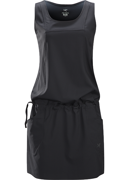 Contenta Dress Women's Relaxed fit dress with integrated waist adjuster, constructed with stretchy, quick drying Diem™ textile. Ideal for hot weather use or while travelling.