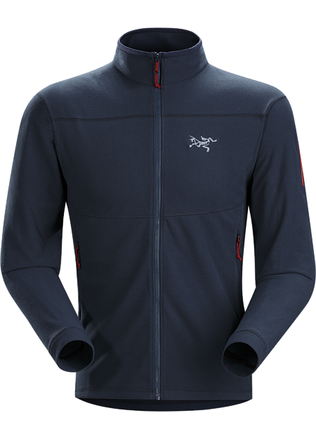 Versatile, lightweight, packable microfleece jacket that works as a midlayer or shoulder season standalone. Delta Series: Mid layer fleece | LT: Lightweight.