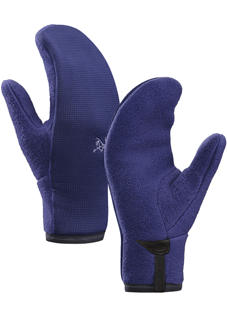 Women's midweight fleece mittens can be used alone or as a liner under a shell mitten.