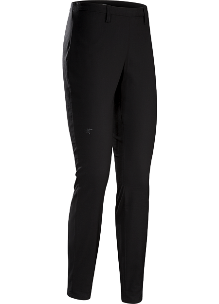 Comfortable, trim-fitting stretch woven pant with versatile city style.