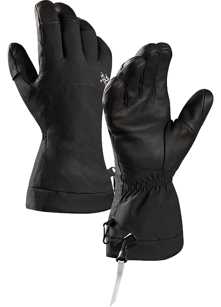 Versatile, durable skiing, snowboarding and winter sport gloves with Primaloft® insulation, GORE-TEX® protection, and leather reinforcements on the palm and fingers.