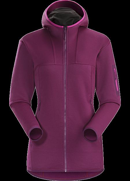 f194668ecfc3a4 Die strapazierfähige Fleece-Hoody mittelschwerer Qualität lässt sich als  Zwischenschicht oder solo tragen.