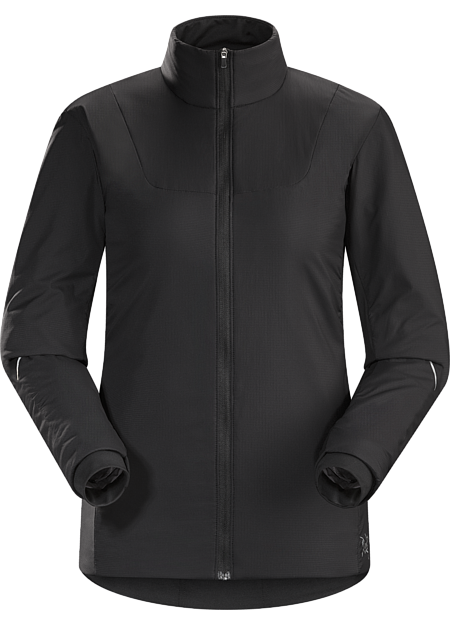 Gaea Jacket Women's Performance thermal regulation in a light, highly breathable wind and weather resistant Polartec® Alpha® insulated jacket designed for high output activities in cold conditions.