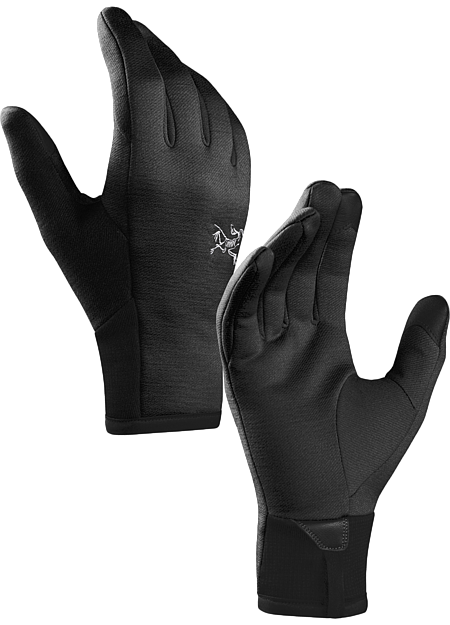 Lightweight smooth faced fleece gloves designed for use as a standalone or as a liner.