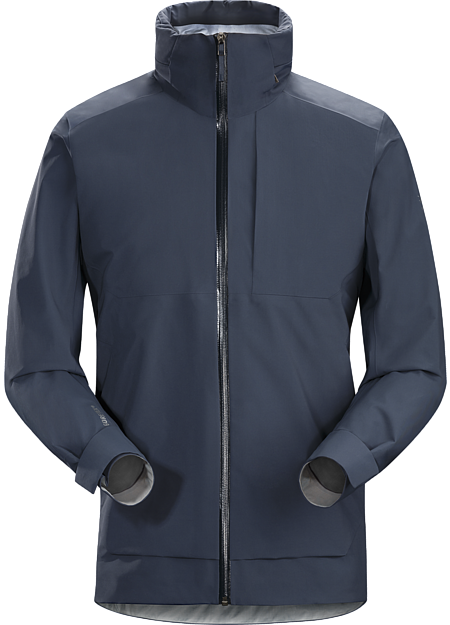 Light, comfortable GORE-TEX® shell delivers waterproof, windproof, breathable weather protection with urban style.