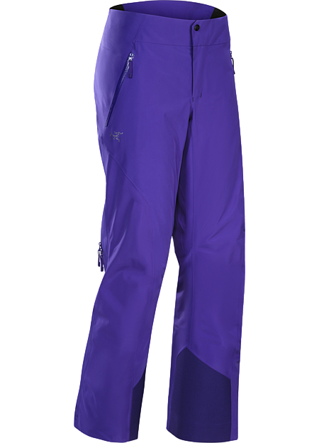 On area GORE-TEX® waterproof pants have light, warm Coreloft™ synthetic insulation and a low profile design for streamlined performance on colder days. Revised fit for the Fall 2016 season.