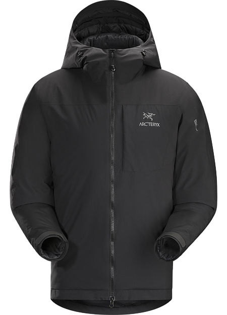 Kappa Hoody Men's Coreloft™ insulated hoody with windproof, water-resistant GORE® THERMIUM™ shell. Kappa Series: Insulated windproof outerwear.