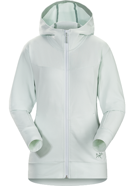 Classic full-zip hoody made from a soft performance blend French terry.