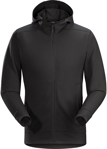Kyson Hoody Men's Classic full-zip hoody made from a cotton blend performance fabric.