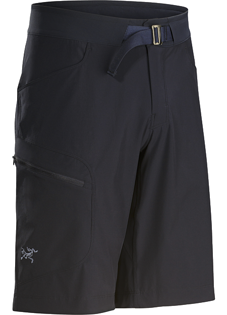Lightweight, quick drying, durable warm weather hiking short with excellent stretch and air permeability.