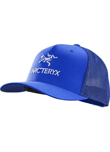 Classic mesh backed trucker hat with a rubberized Arc'teryx graphic on the front.
