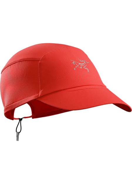 Ultralight, packable Phasic™ SL cap for moisture management and sun protection during high output activities on hot days.