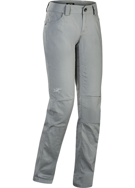Trim fitting women's cotton canvas pant with stretch and casual style. Revised fit for the Fall 2016 season.