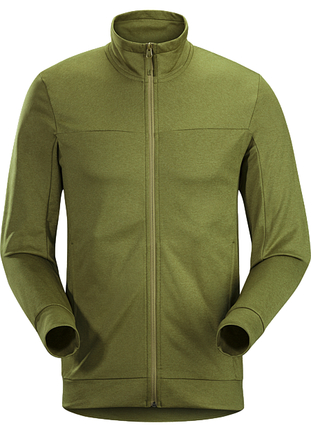 Trim fitting, lightweight, fleece geared for the urban bike commute and everyday living.