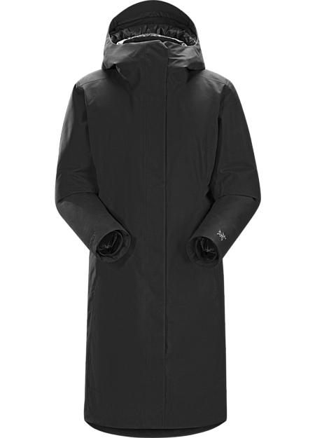Patera Parka Women's Clean, elegant city parka with the warmth of down and weather protection of GORE-TEX®.