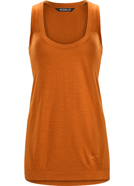 Light, comfortable, versatile tank top for casual wear on its own or as layering piece.