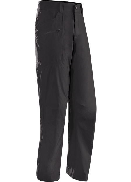 Midweight, air permeable Cresta™ stretch nylon trekking pants with motion friendly design.