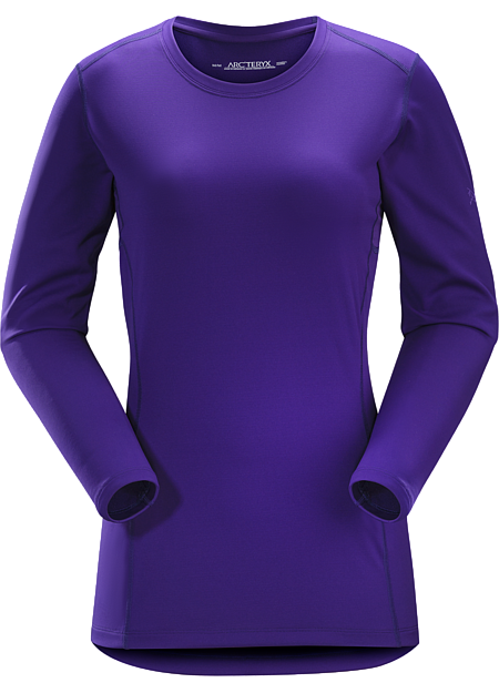 Phase AR Crew LS Women's Midweight Phasic™ baselayer top for all round use cooler temperatures. Phase Series: Moisture wicking base layer | AR: All-Round.