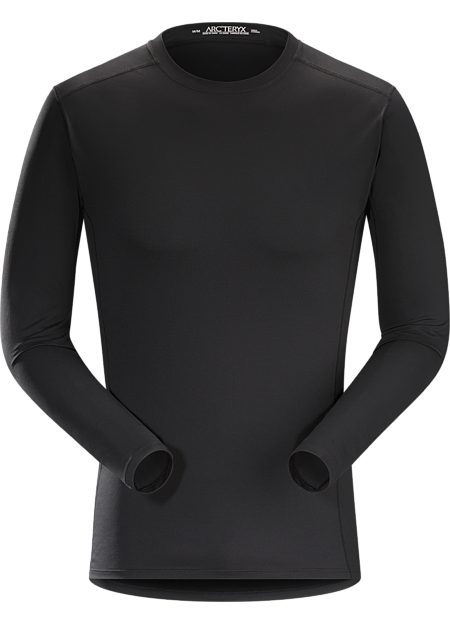 Silkweight Phasic™ baselayer top for high output in cooler temperatures. Phase Series: Moisture wicking base layer | SL: Superlight.