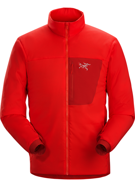 Midweight air-permeable insulation that self-regulates to prevent overheating . | LT: Lightweight.