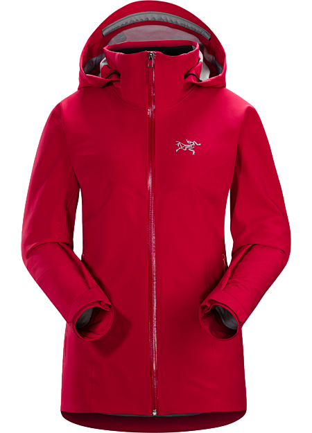 Trim fit GORE-TEX® on-area ski shell with the freedom of four-way stretch.