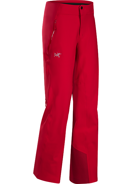 Dynamic stretch and GORE-TEX® protection in a trim-fitting women's ski pant.