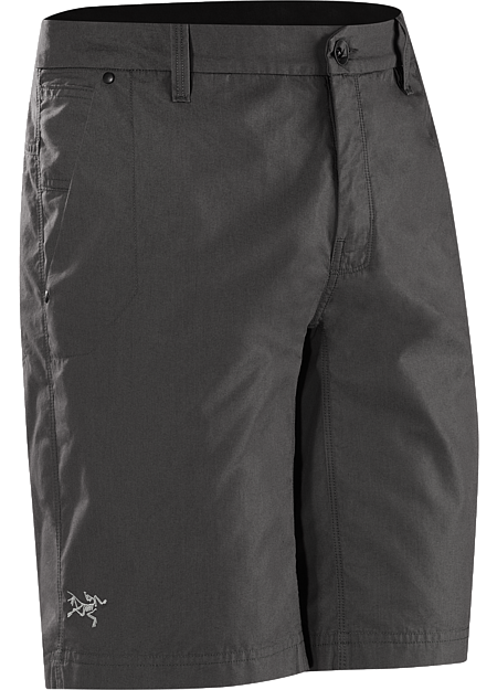 Durable, casually styled,  regular fit lightweight canvas shorts designed for travel and everyday wear.