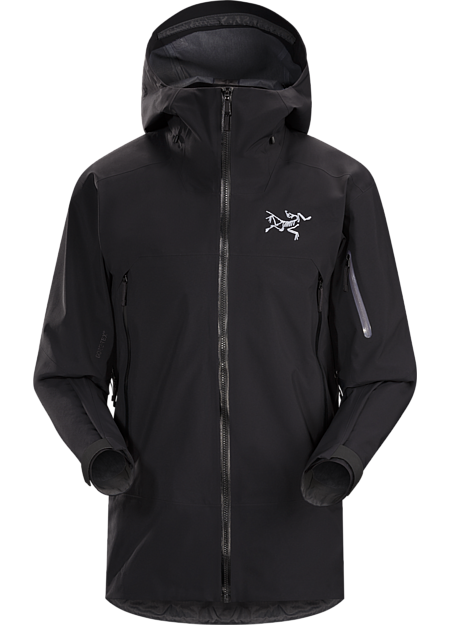 Sabre Jacket Men's Big mountain, versatile GORE-TEX® skiing and snowboarding jacket with performance features, built in freedom of movement, and a flannel backer for light insulation.