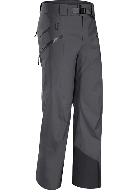 Lightly insulated, waterproof, GORE-TEX® pant with a Slide 'n Loc™ snap system that attaches to compatible jackets. Re-designed with a reduced lower leg circumference. Maintains the freeride styling but has a more contemporary look and athletic fit
