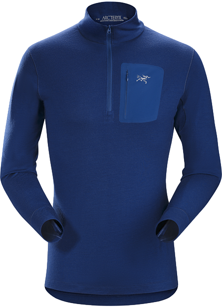 Heavyweight Merino wool base layer for cold weather and prolonged backcountry use.